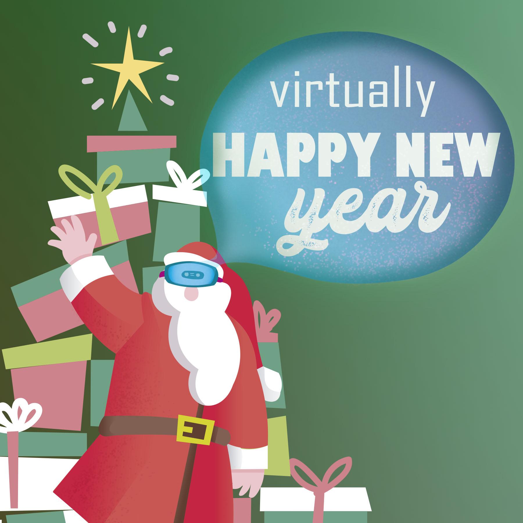 Virtually Happy New Year